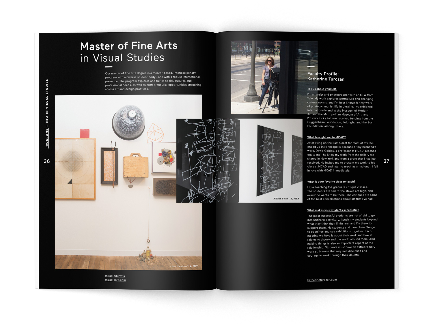 Mcad graduate and post baccalaureate viewbook aaron deyoe previous project 1betcityfo Gallery